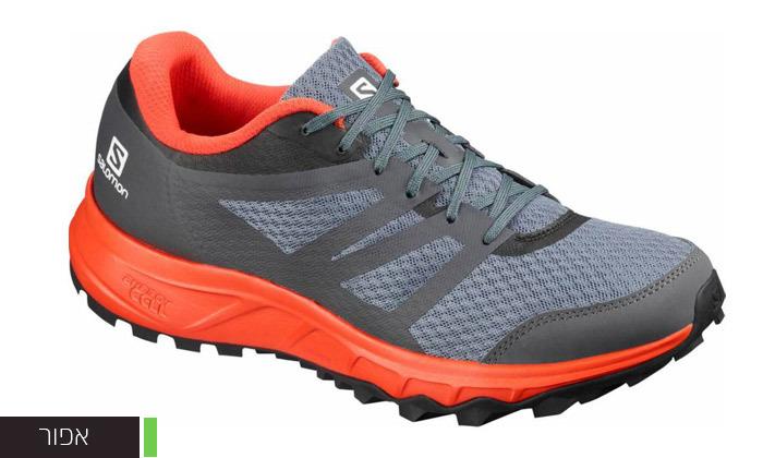 3 נעלי ריצת שטח לגברים Salomon דגם Trailster