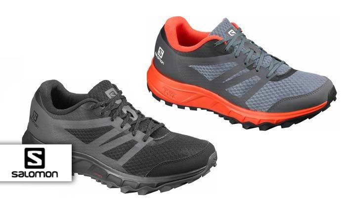 2 נעלי ריצת שטח לגברים Salomon דגם Trailster