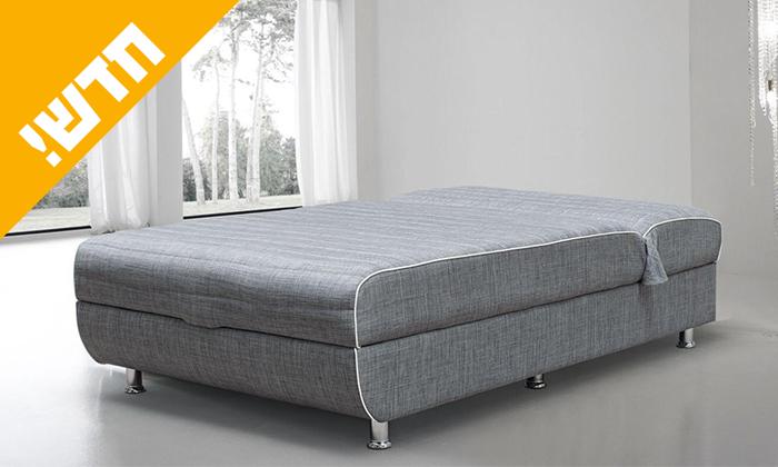 2 מיטה אורתופדית ברוחב וחצי LEONARDO, דגם הדס