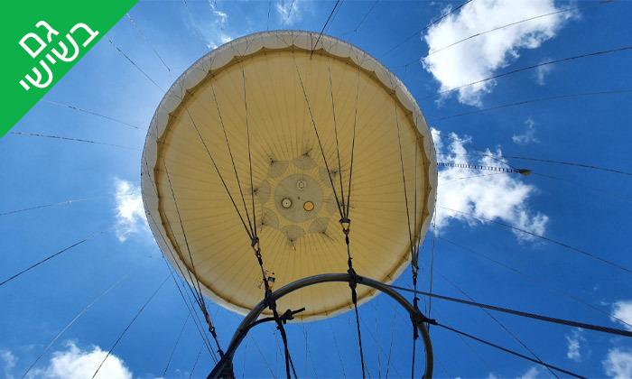 9 טיסה בכדור פורח TLV Balloon, פארק הירקון