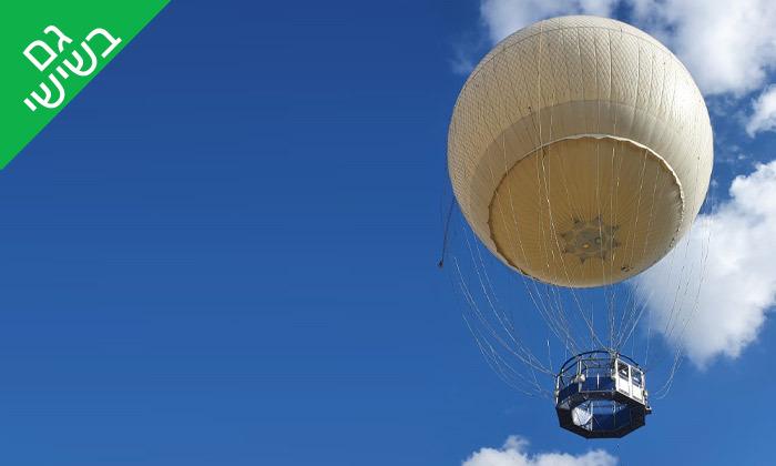 3 טיסה בכדור פורח TLV Balloon, פארק הירקון
