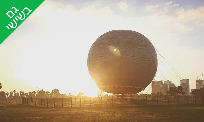 10 טיסה בכדור פורח TLV Balloon, פארק הירקון