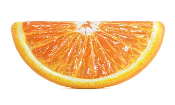 2 מזרן ים בצורת פלח תפוז