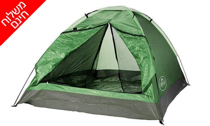 3 אוהל זוגי ו-2 שקי שינה - משלוח חינם!