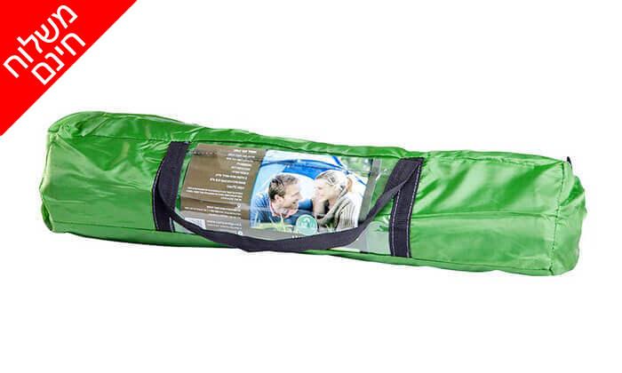 4 אוהל זוגי ו-2 שקי שינה - משלוח חינם!