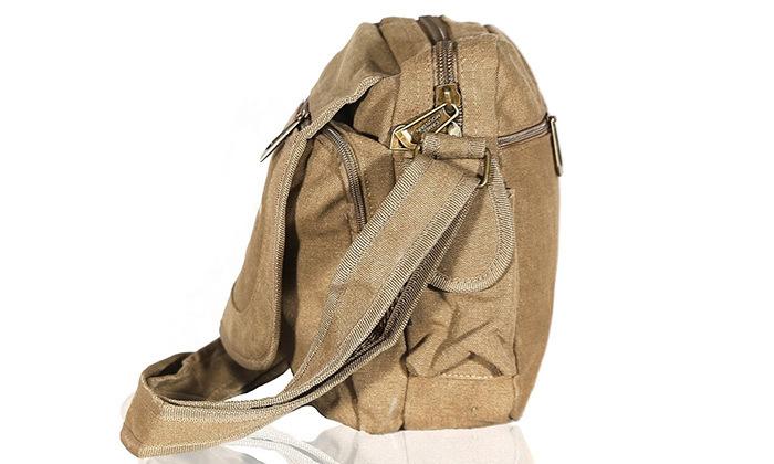 8 תיק צד קנבס מבית Camel Mountain דגם Thermo