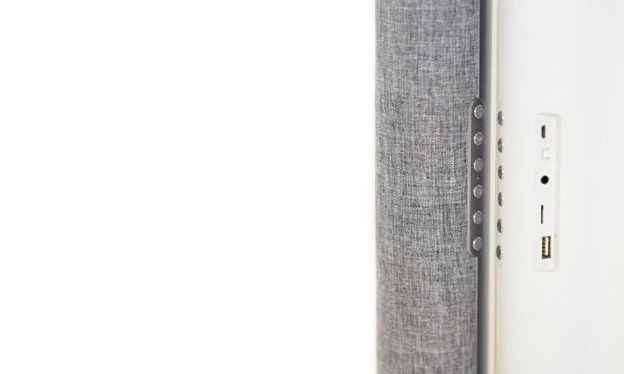 3 רמקול בלוטוס בר נטען כולל שעון מעורר
