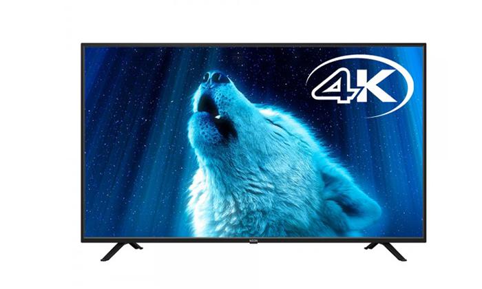 2 דיל ל-24 שעות: טלוויזיה חכמה 4K נאון NEON, מסך 55 אינץ'