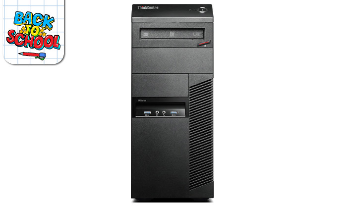 4 מחשב נייח לנובו Lenovo עם מעבד i5 וכ. גרפי GeForce GTX 1050 Ti