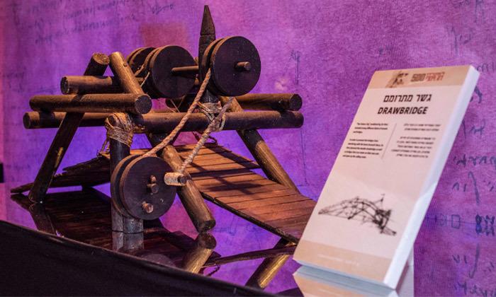 5 לאונרדו דה וינצ'י 500 - תערוכה במתחם התחנה הראשונה ירושלים