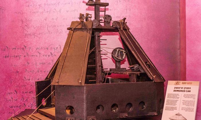 7 לאונרדו דה וינצ'י 500 - תערוכה במתחם התחנה הראשונה ירושלים