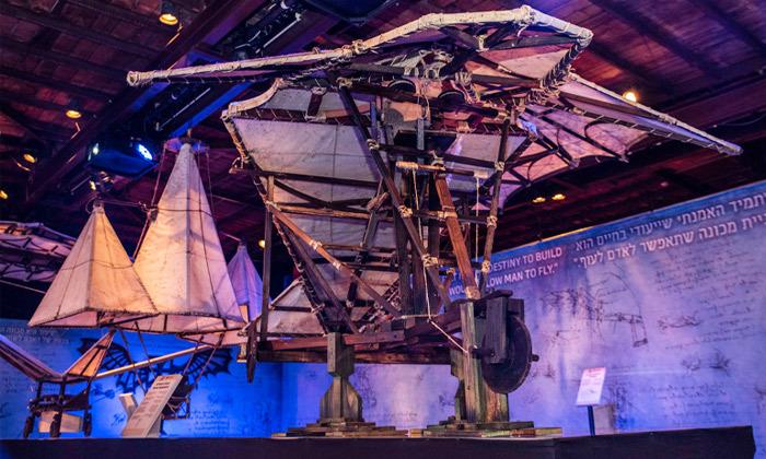 10 לאונרדו דה וינצ'י 500 - תערוכה במתחם התחנה הראשונה ירושלים