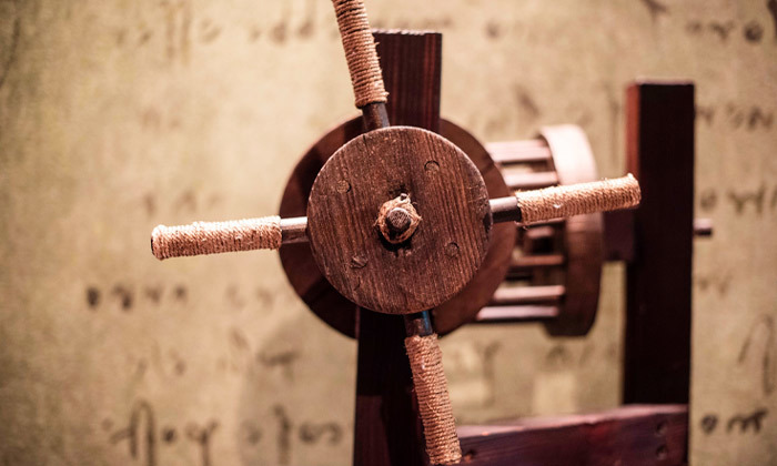 14 לאונרדו דה וינצ'י 500 - תערוכה במתחם התחנה הראשונה ירושלים
