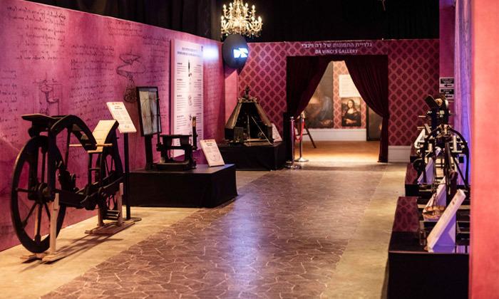 8 לאונרדו דה וינצ'י 500 - תערוכה במתחם התחנה הראשונה ירושלים