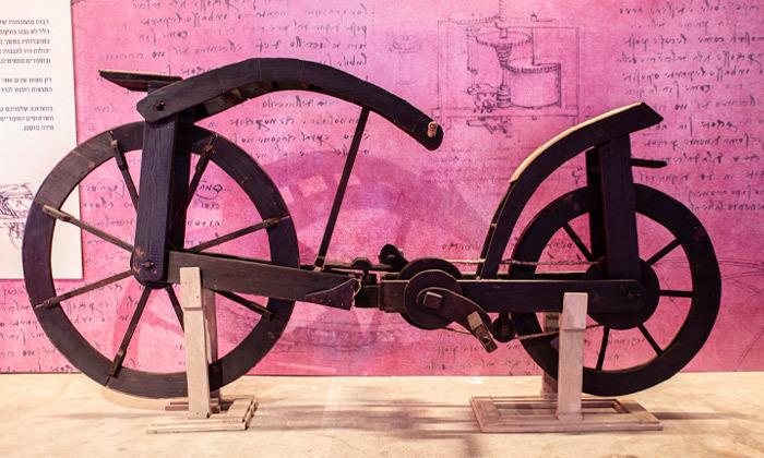 9 לאונרדו דה וינצ'י 500 - תערוכה במתחם התחנה הראשונה ירושלים