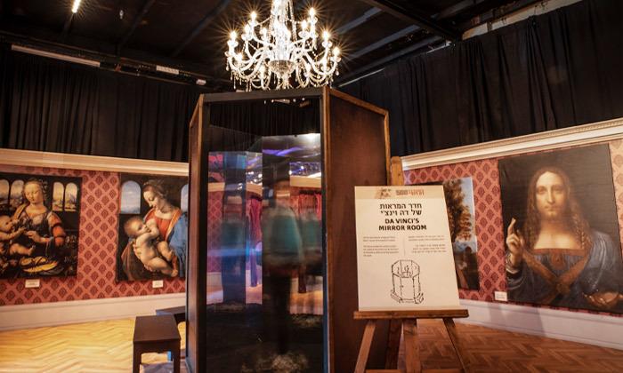 11 לאונרדו דה וינצ'י 500 - תערוכה במתחם התחנה הראשונה ירושלים