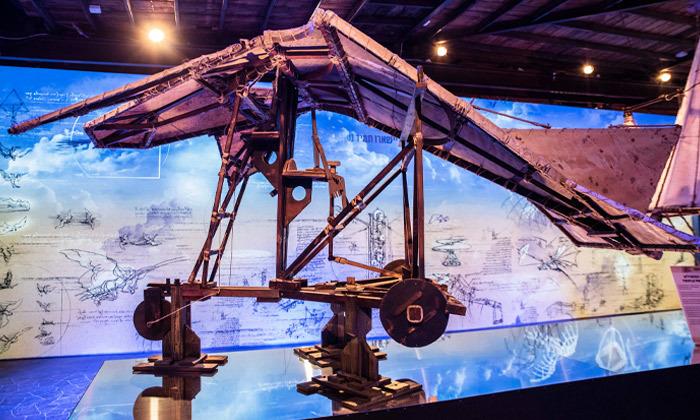 16 לאונרדו דה וינצ'י 500 - תערוכה במתחם התחנה הראשונה ירושלים