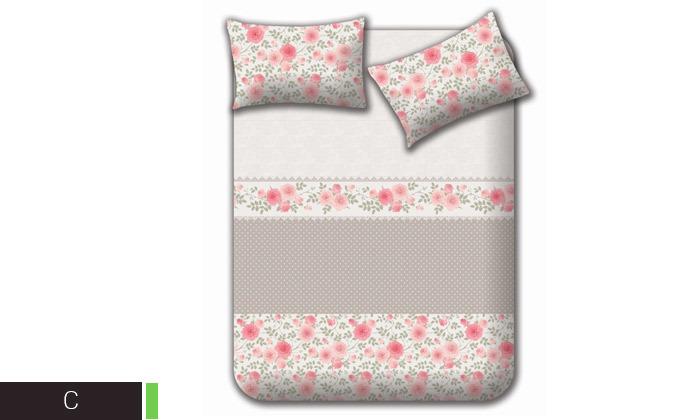 3 מצעי קיץ 100% כותנה למיטה זוגית Homestyle - משלוח חינם