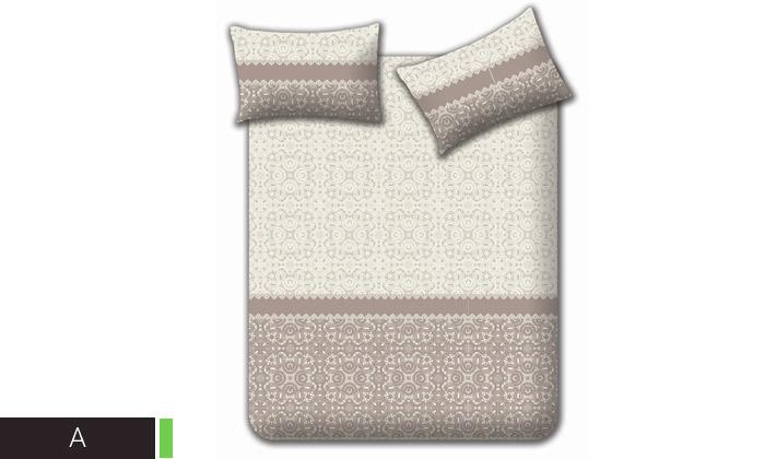 6 מצעי קיץ 100% כותנה למיטה זוגית Homestyle - משלוח חינם