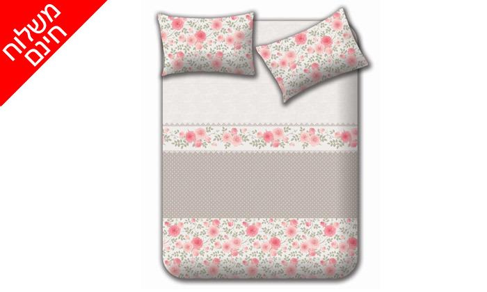 7 מצעי קיץ 100% כותנה למיטה זוגית Homestyle - משלוח חינם