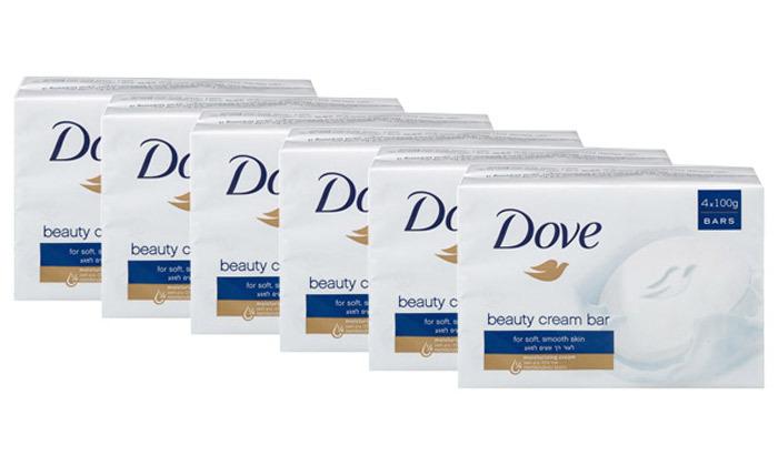 2 40 יחידות סבון מוצק דאב DOVE במבחר ריחות