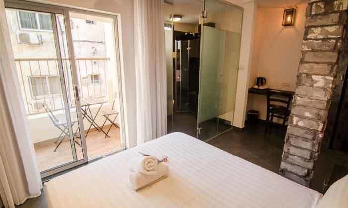 2 בידוד במלון בל בוטיק וספא, תל אביב
