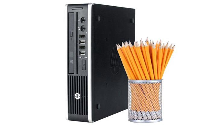 3 מחשב נייח HP קטן עם מעבד i3