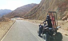 טיול טרקטורונים לזוג בהרי אילת