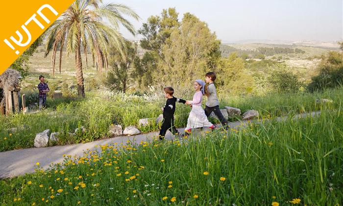 4 פארק נאות קדומים באזור מודיעין - פעילויות קיץ לכל המשפחה