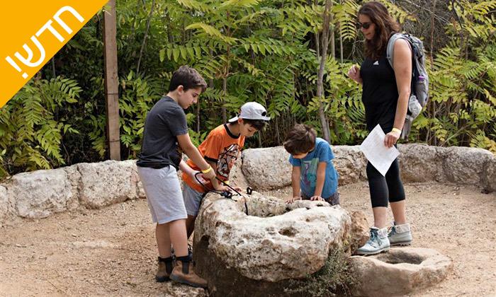 3 פארק נאות קדומים באזור מודיעין - פעילויות קיץ לכל המשפחה