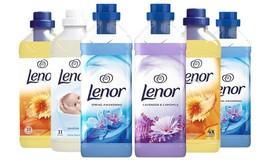 6 בקבוקי מרכך כביסה Lenor
