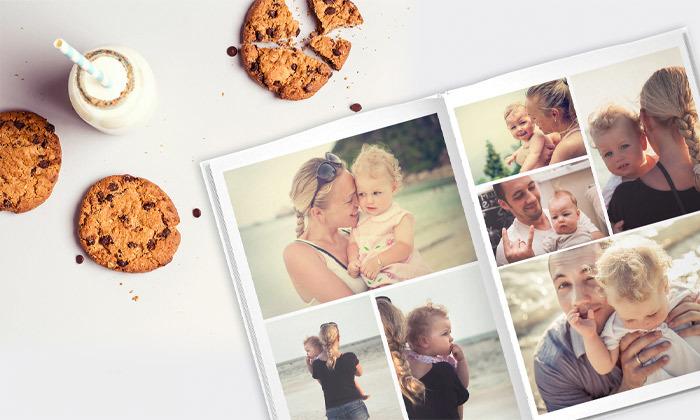 5 דיל לזמן מוגבל: אלבום תמונות קלאסי A4 בכריכה קשה ZOOMA