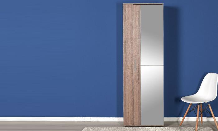 2 ארון 10 מדפים עם מראה מבית HOMAX דגם ריצ'ארד