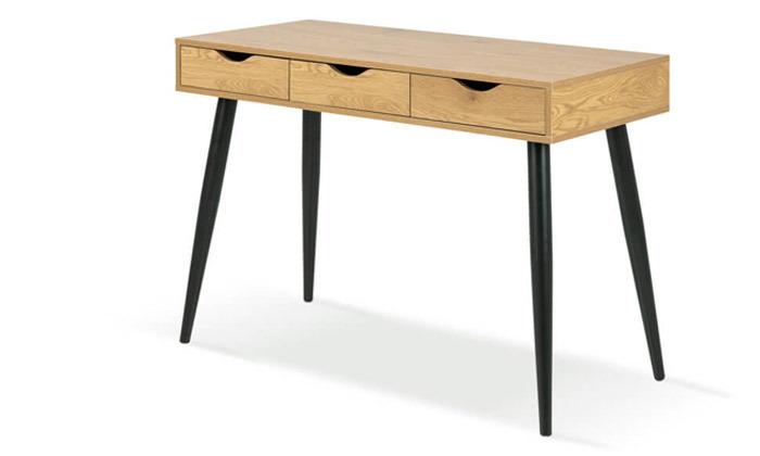 3 שמרת הזורע: שולחן עבודה דגם 'פלוטו' וכיסא - הובלה והרכבה חינם