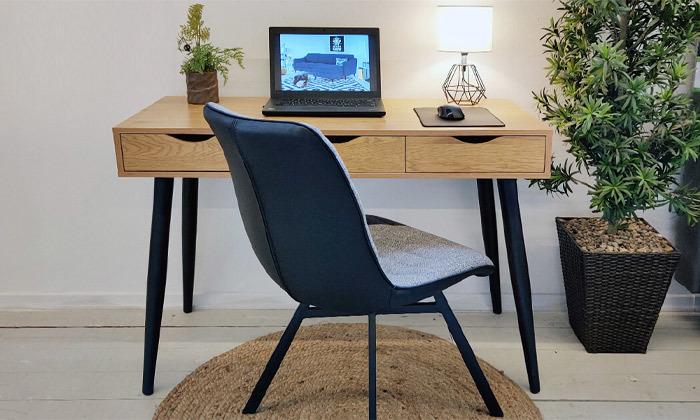 9 שמרת הזורע: שולחן עבודה דגם 'פלוטו' וכיסא - הובלה והרכבה חינם