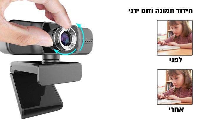 4 מצלמת רשת למחשב FULL HD