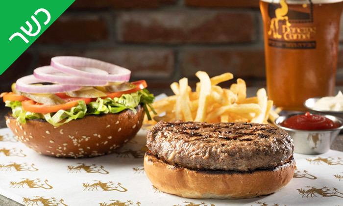11 ארוחת המבורגר זוגית כשרה בפטריקס פתח תקווה
