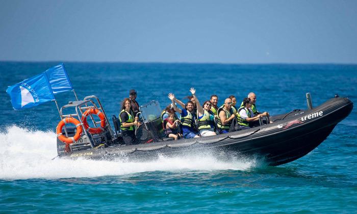 3 שייט בסירת טורנדו - שמורת הטבע אכזיב וראש הנקרה