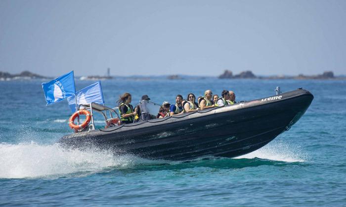 6 שייט בסירת טורנדו - שמורת הטבע אכזיב וראש הנקרה