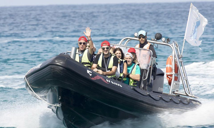 2 שייט בסירת טורנדו - שמורת הטבע אכזיב וראש הנקרה
