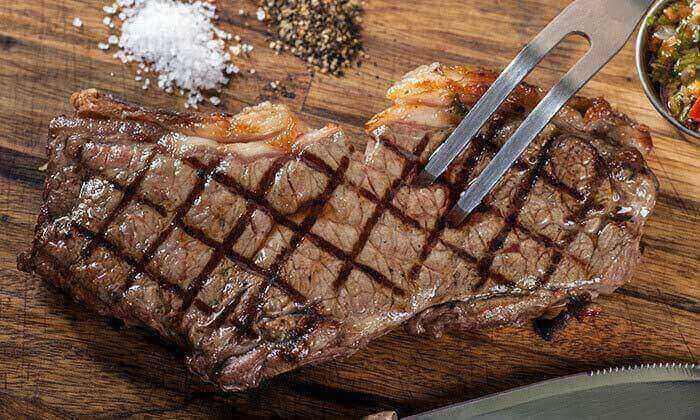 10 ארוחה זוגית ברשת רק בשר - גם ב-T.A
