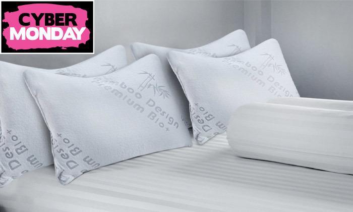 5 זוג כריות שינה ויסקו Memory Foam