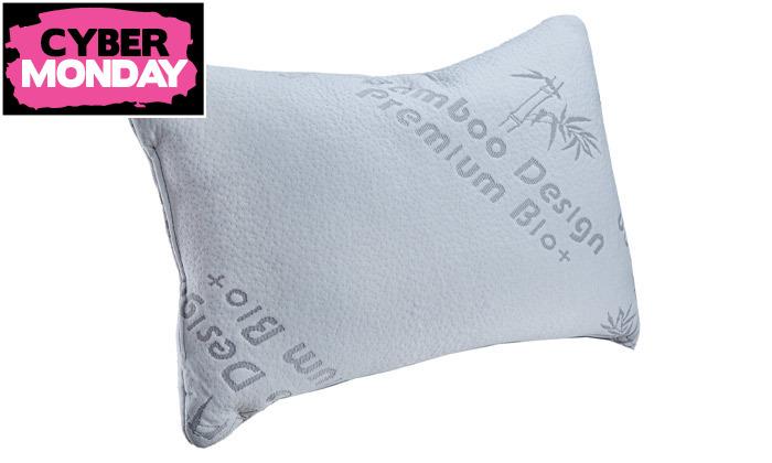 6 זוג כריות שינה ויסקו Memory Foam