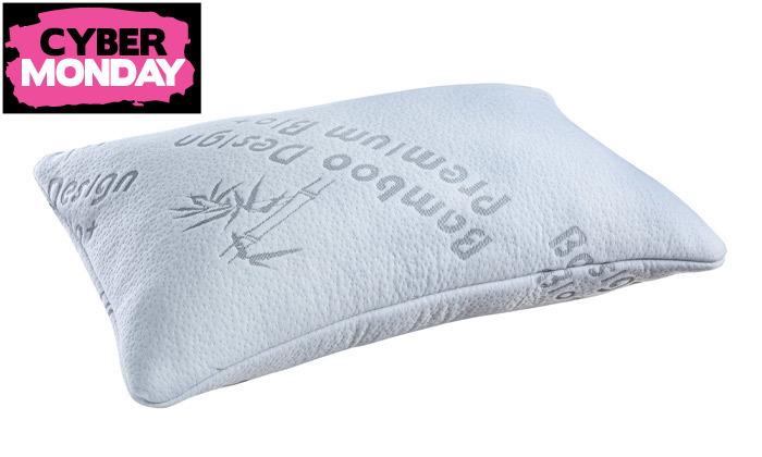 4 זוג כריות שינה ויסקו Memory Foam