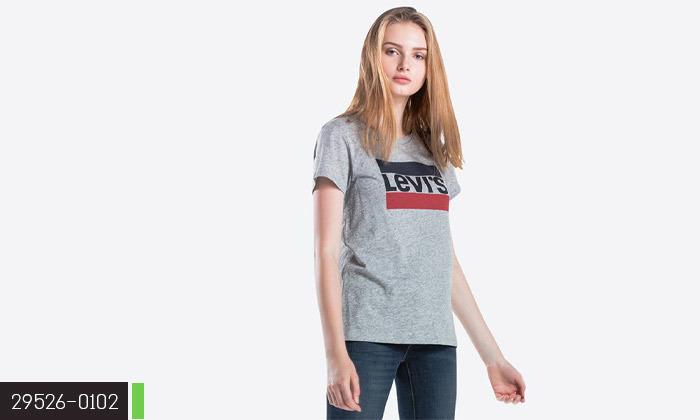 5 חולצות נשים 100% כותנה, ליוויס LEVIS
