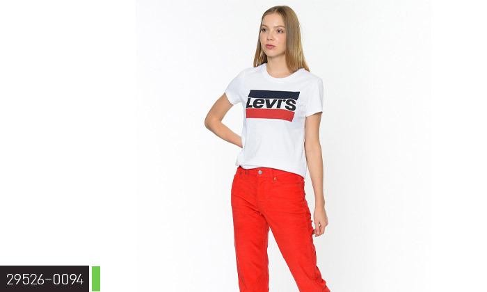 4 חולצות נשים 100% כותנה, ליוויס LEVIS