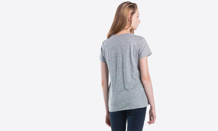 6 חולצות נשים 100% כותנה, ליוויס LEVIS
