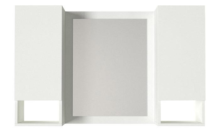 3 ארון משולב מראה לחדר האמבטיה