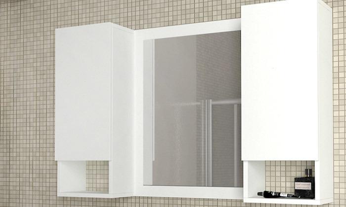 5 ארון משולב מראה לחדר האמבטיה