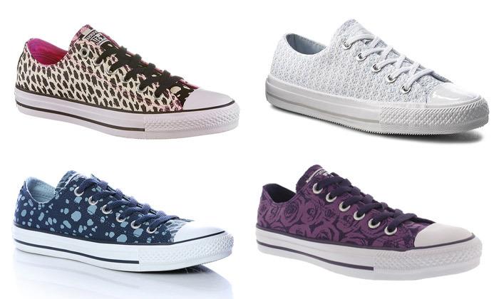 2 נעלי סניקרס קונברס אולסטאר לנשים CONVERSE All Star